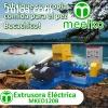 Extrusora Meelko para pellets flotantes para peces 500-600kg