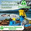 Extrusora Meelko para pellets flotantes para peces 60-80kg/h