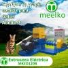 Extrusora Meelko para perros y gatos 500-600kg/h 55kW -