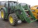 John Deere Farm Tractor Rendimiento 6110 ACCIÓN