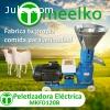 Maquina Meelko para pellets con madera 120 mm electrica 45-6