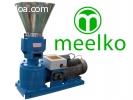 Maquina Meelko para pellets con madera 150 mm electrica 60/9