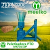 Máquina Meelko para pellets con madera 150 mm PTO 60-70 kg/h