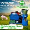 Máquina Meelko para pellets con madera 230 mm diésel 120-200
