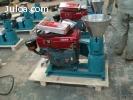 Peletizadora Meelko 120mm 8 hp Diesel para alfalfas y pastur