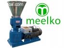 Peletizadora Meelko 150mm eléctrica 4kW para alfalfas y past