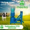 Peletizadora Meelko 230mm 22hp PTO para concentrados balance
