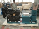 Peletizadora  Meelko 260mm 35 hp Diesel para alfalfas y past