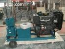 Peletizadora Meelko 300mm 55 hp Diesel para alfalfas y pastu
