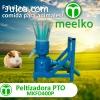 Peletizadora Meelko 400mm PTO para piensos y pasturas - MKFD