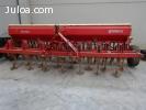 Sembradora usada Larrosa 4 metros con cultivador y rastra