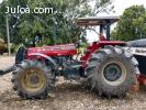 Tractor 291 con rastra,fumigadora y abonadora