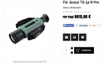 Visor Térmico Flir Scout TS-32R Pro